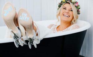 Beautiful bride in Henley