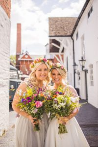 Wedding Makeup Bride and Bridesmaids