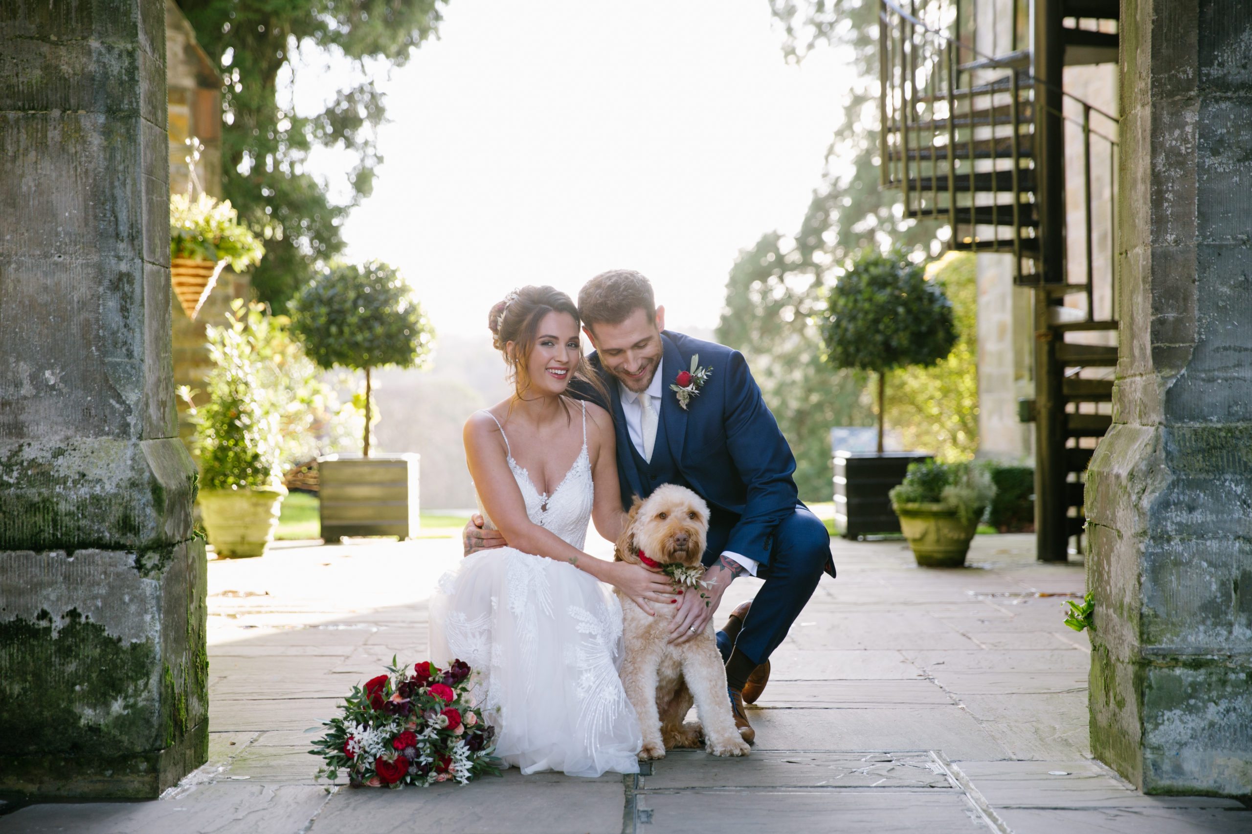 Wedding Elopement with Doggy